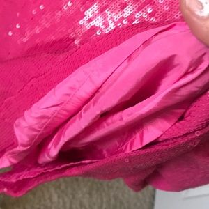 Lafayette 148 New York Skirts - Lafayette 148 New York Pink silk with sequins